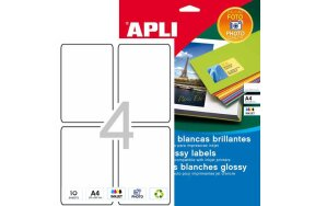 APLI LABLS N.02922 PHOTO GLOSSY INKJET 88,9x127mm